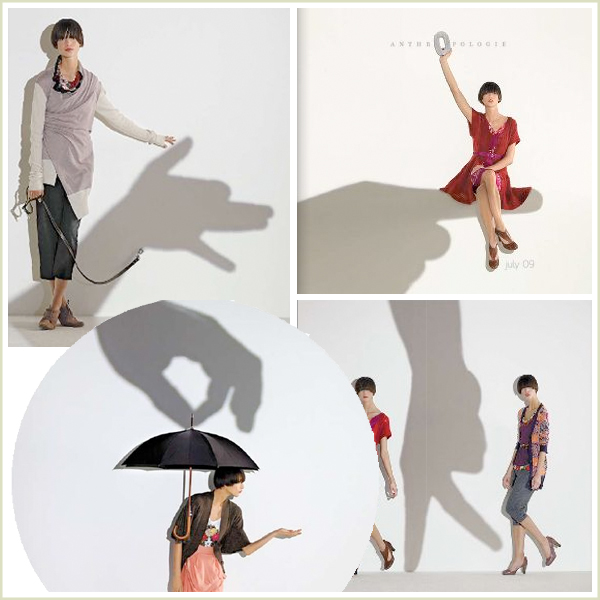 Anthropologie Shadow Puppets