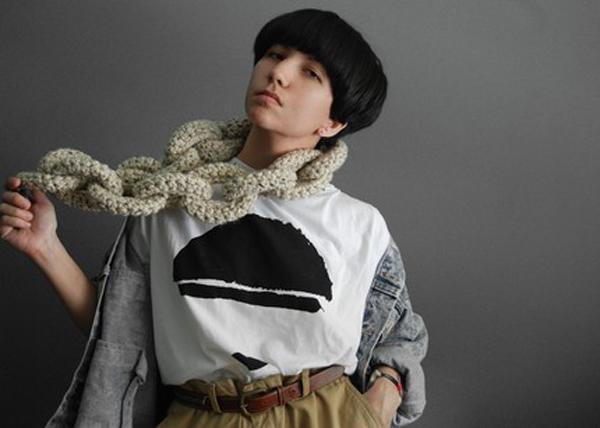 Yokoo Knit Necklace