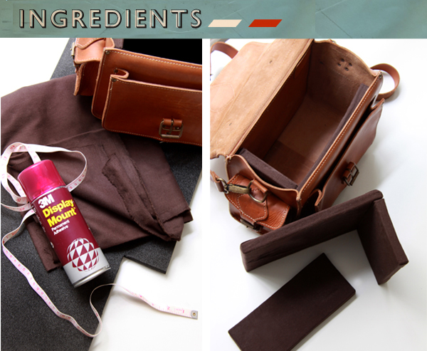 camera bag ingredients