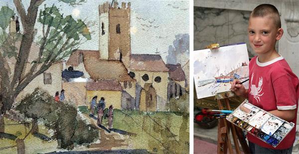 Kieron's Watercolour Paintings