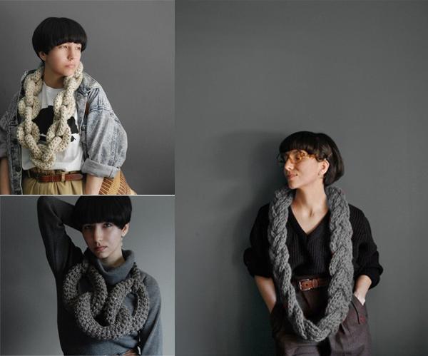 Yokoo Knit Necklaces