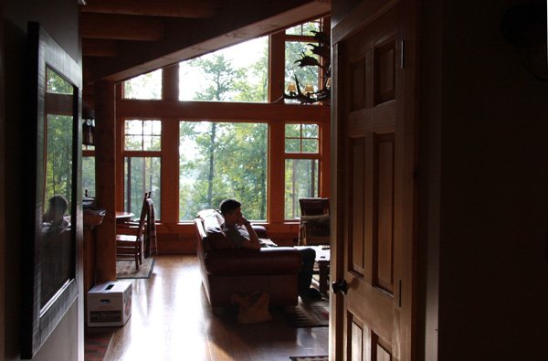 cabin-hallway